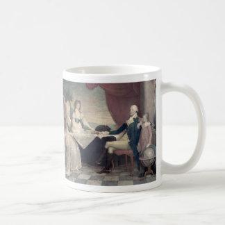 George Washington y su taza de la familia