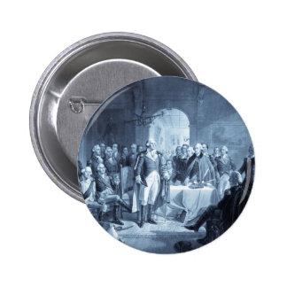 George Washington y sus botones de los generales