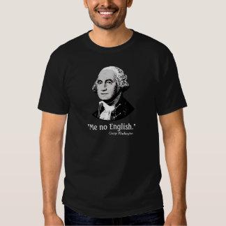 George Washington yo ninguna camisa inglesa