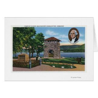 George Washington's HQ, Tower of Victory Scene Card
