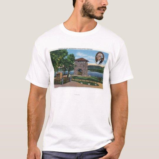 George Washington's HQ, Tower of Victory Scene T-Shirt