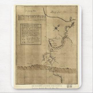 George Washington's Journal to the Ohio 1754 Mousepads