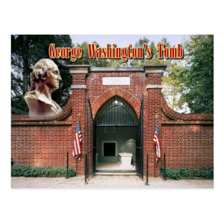 George Washington's Tomb, Mount Vernon Postcard