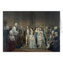 George Washington's Wedding cards