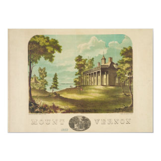 George Washinton's Home Mount Vernon by F. Collins Card