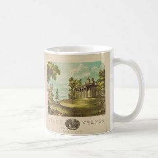 George Washinton's Home Mount Vernon by F. Collins Coffee Mug