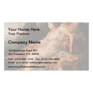 George Watts- Ariadne on the Island of Naxos Double-Sided Standard Business Cards (Pack Of 100)