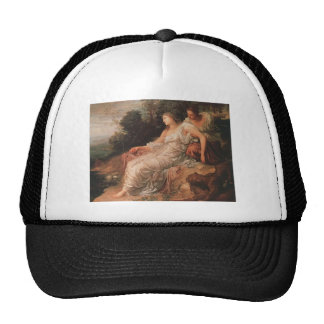 George Watts- Ariadne on the Island of Naxos Hats