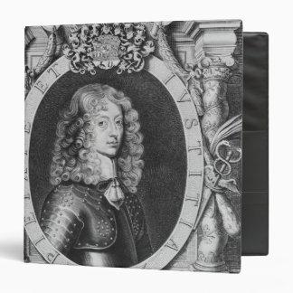 George William  Duke of Braunschweig-Luneberg Vinyl Binder