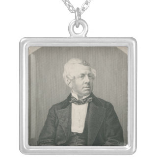 George William Frederick Howard Square Pendant Necklace
