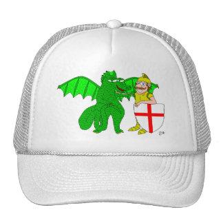 George y el dragón gorro de camionero
