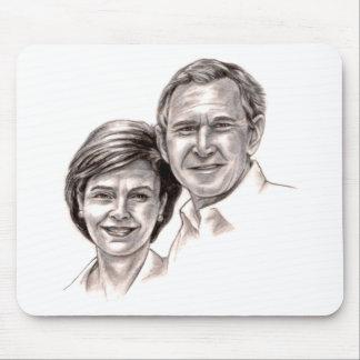 George y Laura Alfombrillas De Ratones