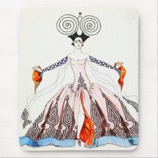 Georges Barbier Art Deco Fashion Mouse Pad