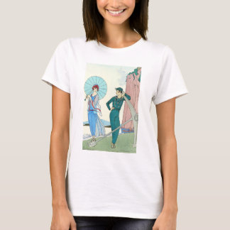 Georges Barbier Lady at the Beach T-shirt