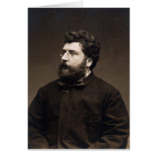 georges bizet card