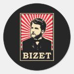 Georges Bizet Etiquetas Redondas