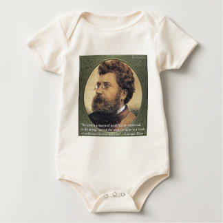 Georges Bizet Religion Shame Quote Gifts & Cards Baby Bodysuit