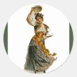 Georges Bizet'sCarmen ~ Rosabel Morrison 1896 Classic Round Sticker