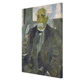 Georges Clemenceau  1928 Canvas Print
