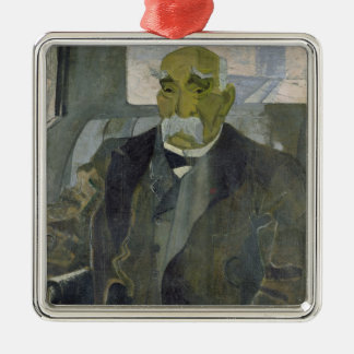 Georges Clemenceau  1928 Metal Ornament