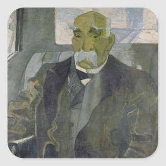 Georges Clemenceau  1928 Square Sticker