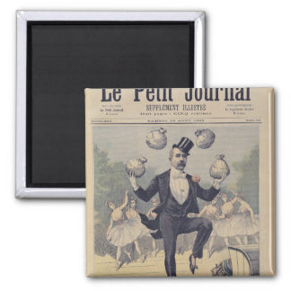 Georges Clemenceau  juggling bags of English Magnet