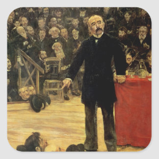 Georges Clemenceau Square Sticker