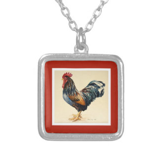 George's Cockerel 2007 Silver Plated Necklace