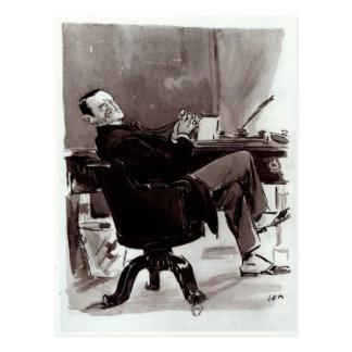 Georges Courteline Postcard
