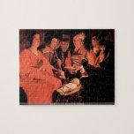 Georges de La Tour - Adoration of the Shepherds pu Jigsaw Puzzles