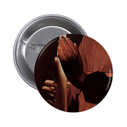 Georges de La Tour Art 2 Inch Round Button