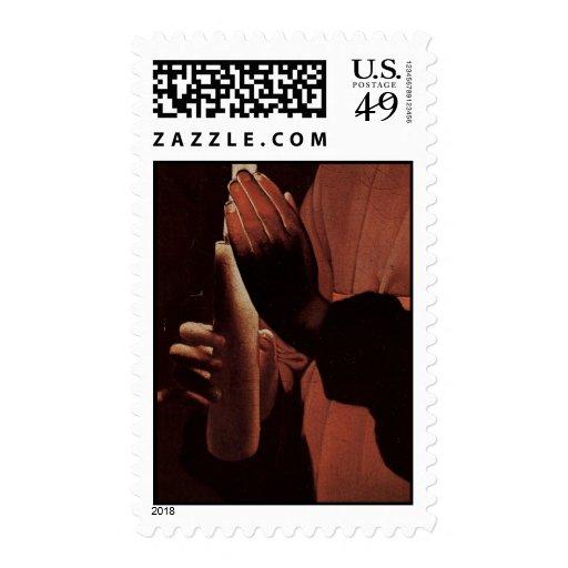 Georges de La Tour Art Postage Stamps