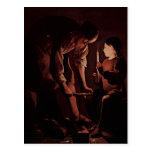 Georges de La Tour Art Postcard