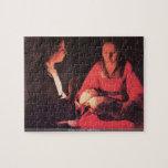Georges de La Tour - Birth of Christ puzzle