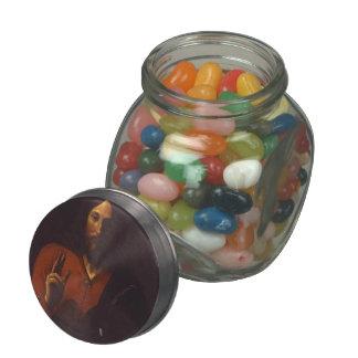 Georges de la Tour- Christ Bénissant Jelly Belly Candy Jar