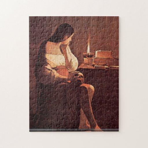 Georges de La Tour - Mary Magdalene puzzle