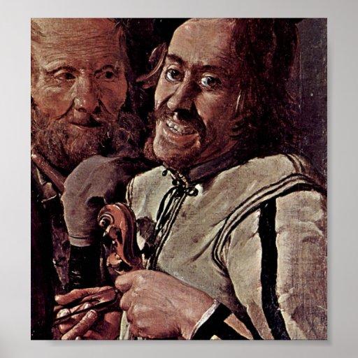 Georges de La Tour - Musician Print