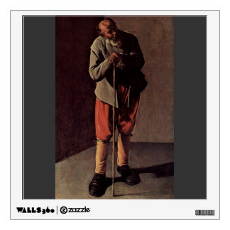 Georges de la Tour- Old Man Wall Skin