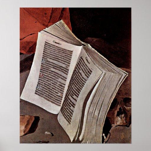 Georges de La Tour - Penitent St Jerome: Libro Póster