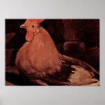 Georges de La Tour - Rooster Print