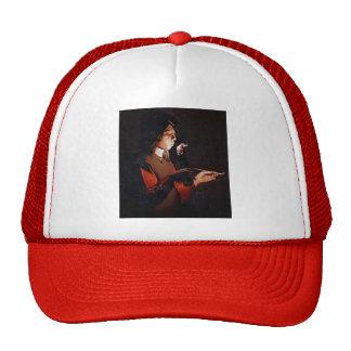 Georges de la Tour- Smoker Hat