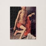 Georges de La Tour - St Hieronymous puzzle