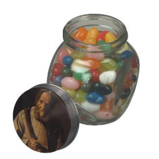 Georges de la Tour- St. Simon Glass Candy Jar