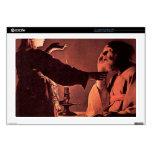 """Georges de La Tour - The angel appears to St Josep 17"""" Laptop Skin"""