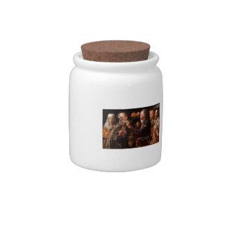 Georges de la Tour- The Beggars' Brawl Candy Jars