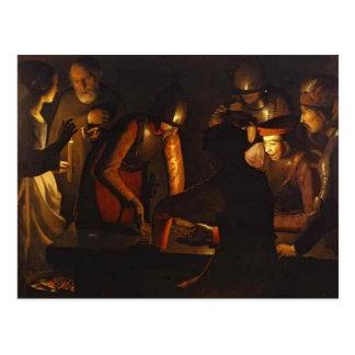 Georges de la Tour- The Denial of St. Peter Postcard
