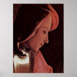 Georges de La Tour - Young Man in Profile Print