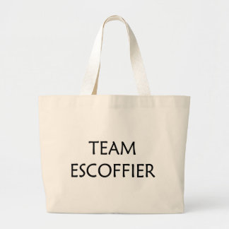 Georges Escoffier, Famous Chef Jumbo Tote Bag