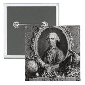Georges-Louis Leclerc  Comte de Buffon Pinback Button