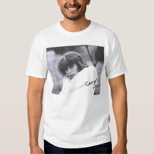 George's mom! On a shirt! T Shirt